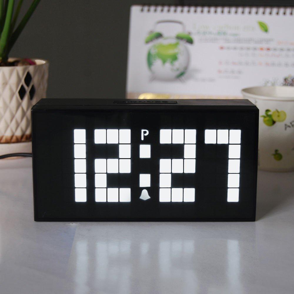 Μεγάλοι αριθμοί Ψηφιακό ρολόι τοίχου - Διακόσμηση σπιτιού - Φωτογραφία 4