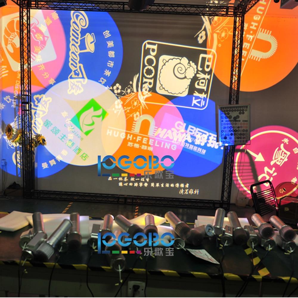 Бесплатная доставка 20 Вт светодиодный проектор рождественский гобо потолочный проектор Новинка огни украшения открытый вечерние Disco свети