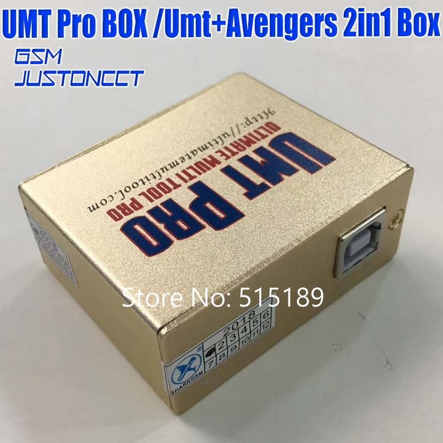 Gsmjustoncct date 100% d'origine UMT Pro boîte UMT + Avengers 2in1 boîte avec 1 USB câbles umt boîte - 3