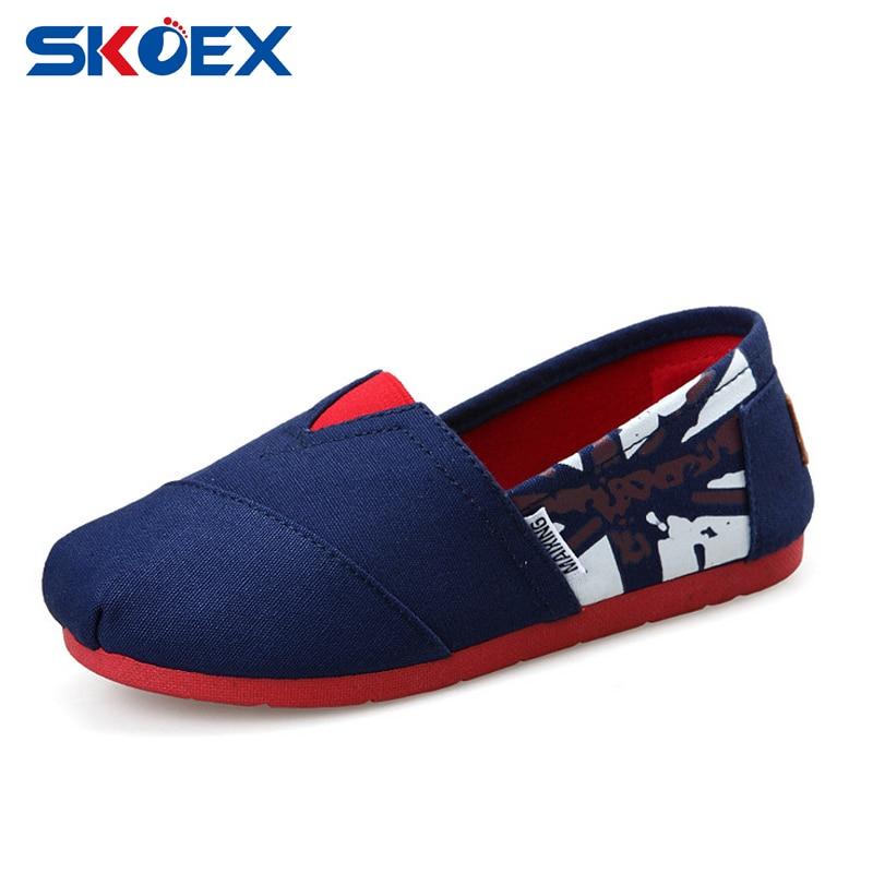 Niños Zapatos de Lona Niños Niñas Zapatillas Slip,On de Los Holgazanes Zapatos Planos Alpargatas