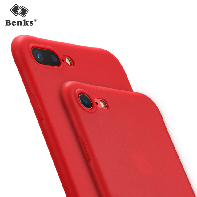 Benks Luxury Matte Case For IPhone 8 Silicone Ultra Thin Black Apple