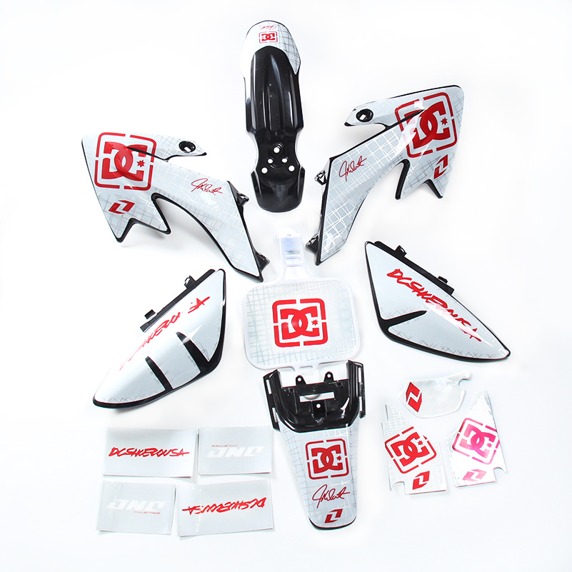 Набор пластиковых наклеек XR50 CRF50 + 3 М, комплект наклеек для грязевых велосипедов 50 куб. См, 70 куб. См, 90 куб. См, 110 куб. См, 125 куб. См, SDG, SSR PRO