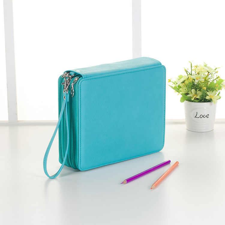 Lapiceras estu160Pcs stylo trou sac à crayons croquis multi-fonctionnel dessin étudiant porte-crayon ensemble pochette à crayons Etui Pennen BD045F