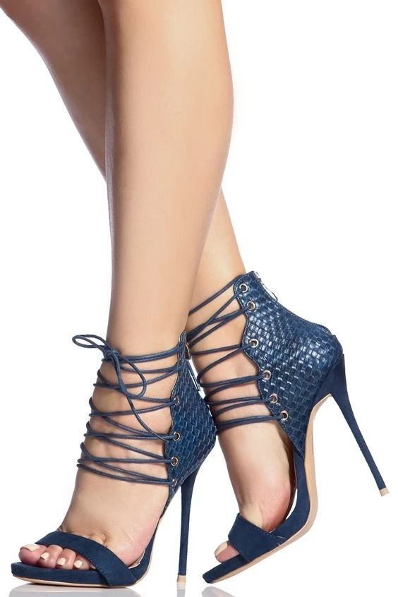 Strap Thin Heels Sandals Women 2019 Sexy High Heel Sandals ...