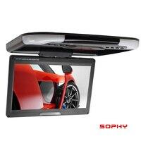 SOPHY Hot sale 13 inch Roof Mount Monitor / Flip Down Car Display / Bus Monitor / Digital LED Screen / Dual video input SH1308