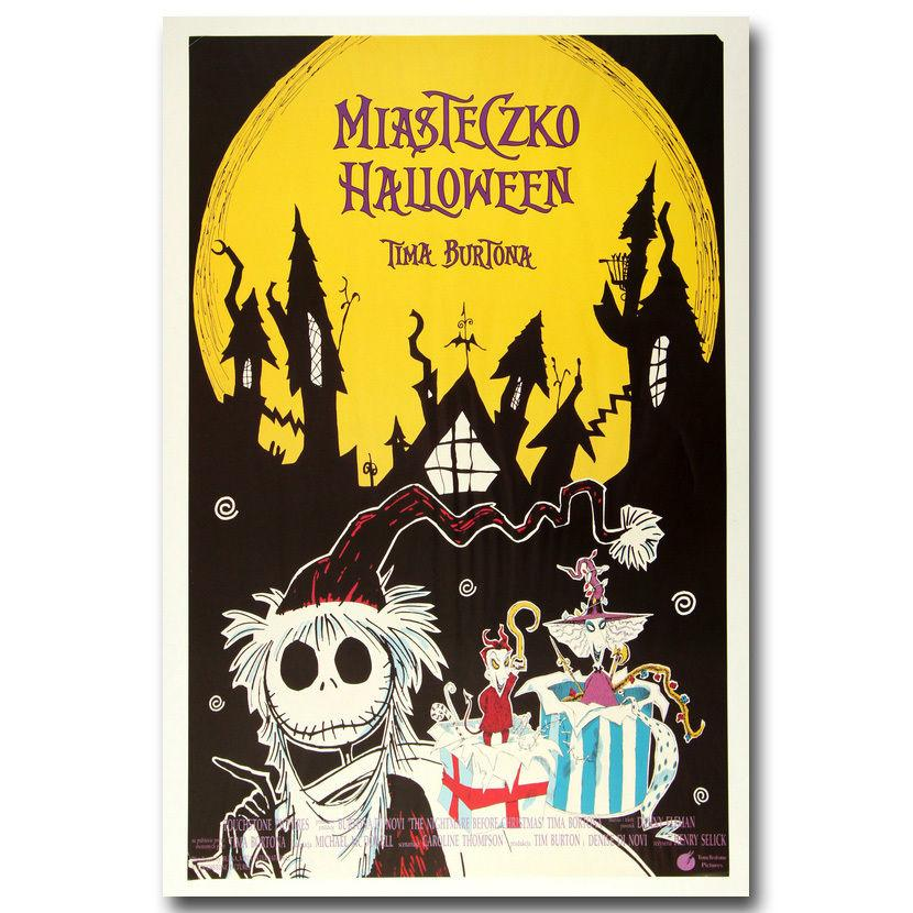 2199A The Nightmare Before Christmas Tim Burton Movie Wall Sticker ...