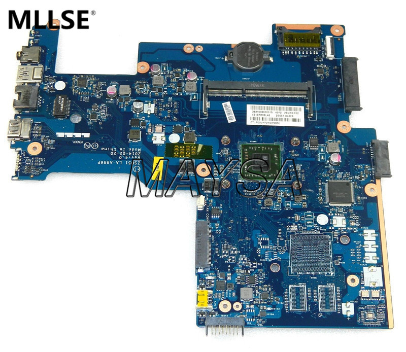 все цены на 764264-501 Fit For HP 15-G series Laptop Motherboard ZS051 LA-A996P Rev:4.0 a4-6210 Mainboard 90 Days Warranty онлайн
