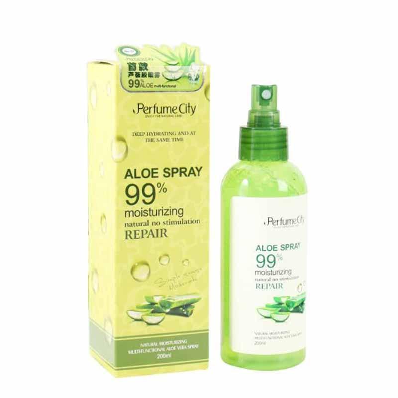 Peng Xiang Multi-function Aloe Vera Gel Spray Moisturizing Acne Print Cream Aloe Vera After Sun Toner Spray