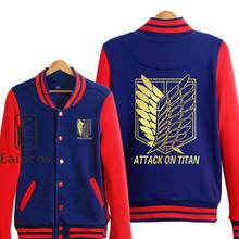 Attack on Titan Scout Legion Golden Print Baseball Uniform Jackets (5 colors)
