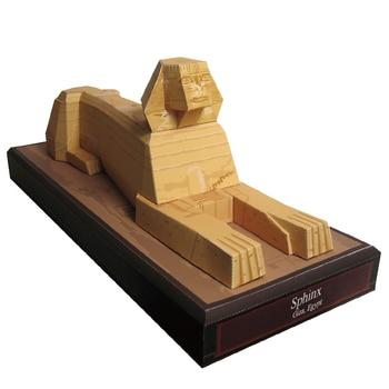 DIY 3D сфинкс, Египет Крафт-бумага модель Архитектура образование Игрушечные лошадки ручной работы игра-головоломка для взрослых