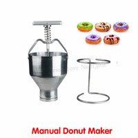 Máquina de Rosca De Aço inoxidável Mão Operação Donut Produtor de Pequena Produção Donut Ferramenta