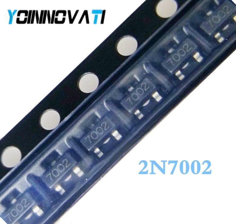 1000PCS 2N7002 7002 SOT-23