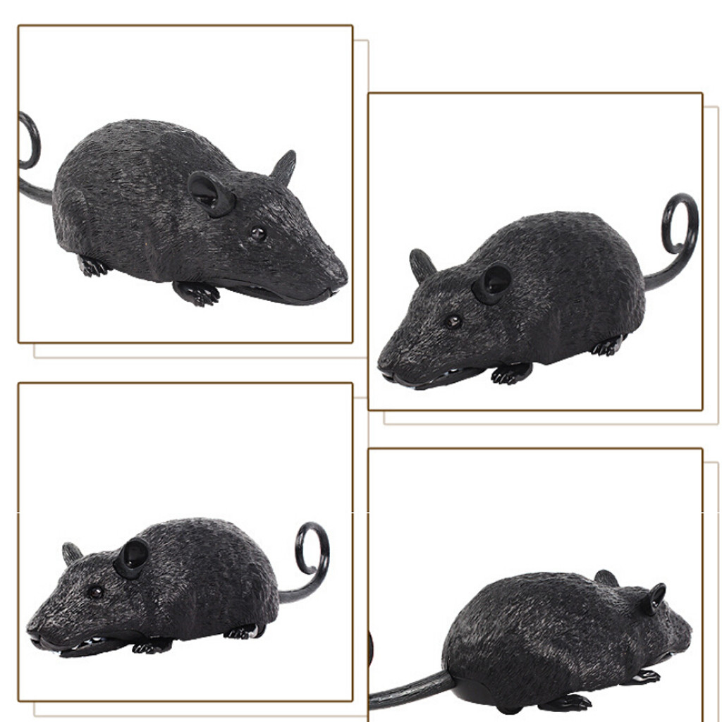 Image 4 - Children Tricky Toys Infrared Induction Electric Remote Control Mouse Pet Toy practical and convenient Remote control toys-in RC Robots & Animals from Toys & Hobbies