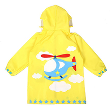 Backpack Polyester Raincoat Poncho Kids Girls Baby Cover Rain Coat Suit Rainwear Regenjas Kinderen Gear Cape 50KO106