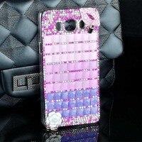 Hot Sale Cute Design Transparent Cartoon Rhinestone Style Smart Phone Case Cover For Samsung Galaxy J5