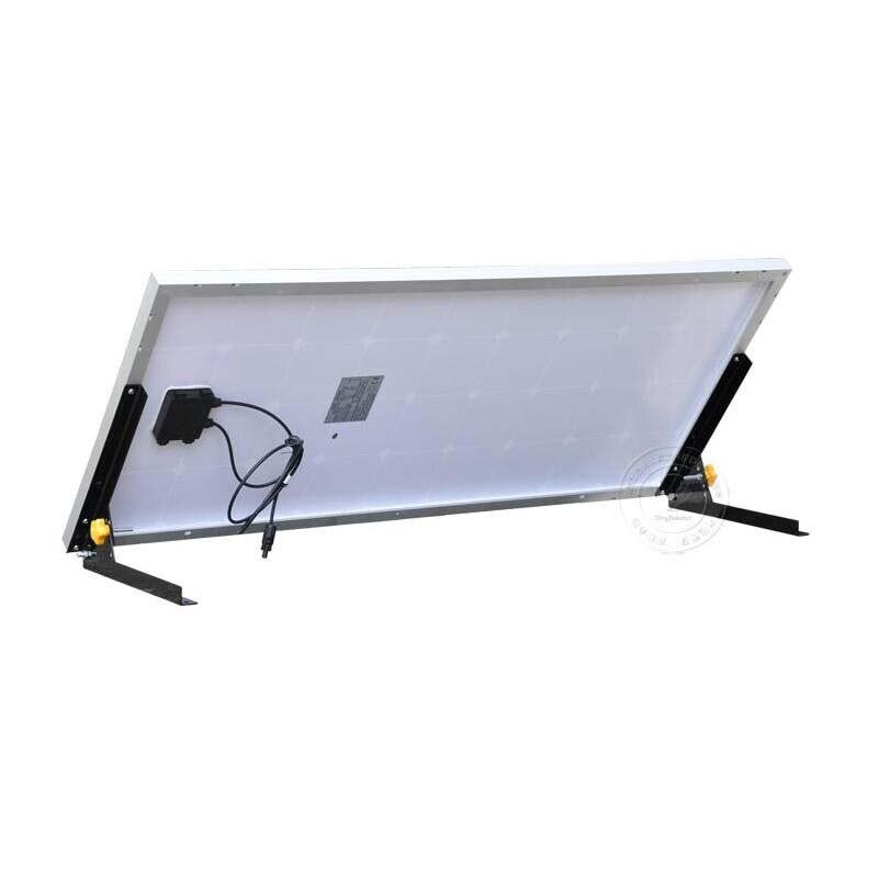 Комплект солнечной энергии панно solaire 100 Вт 12 В солнечный кронштейн для pannello solare 100 Вт Солнечный сад свет караван автомобиля