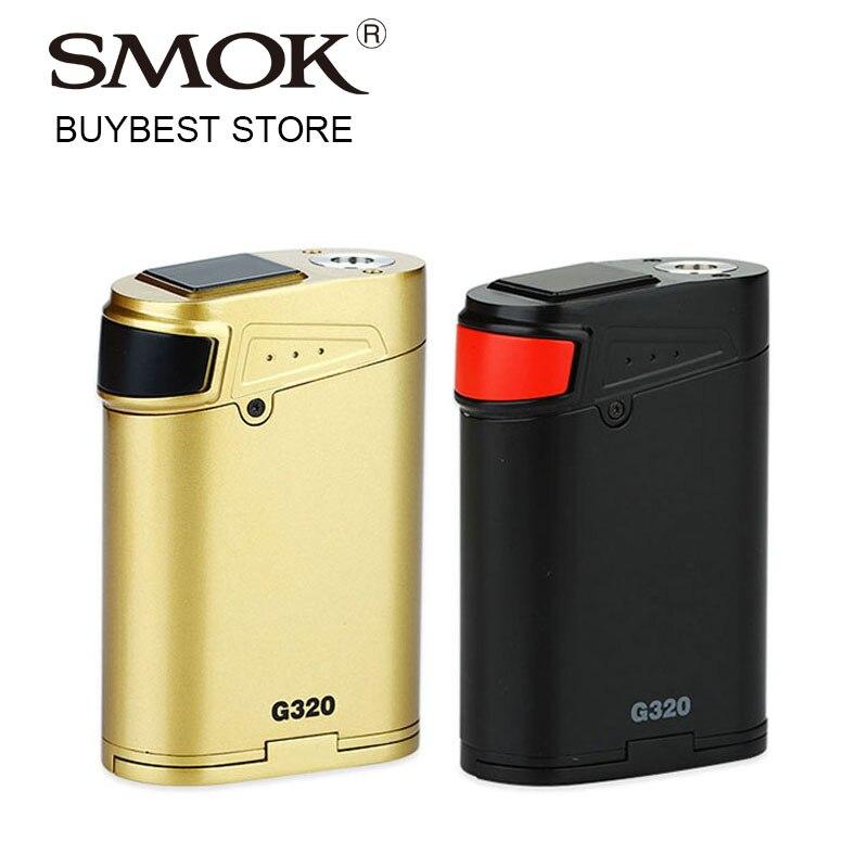 Originale 320 W SMOK G320 Maresciallo TC MOD SMOK G-320 Box Mod partita per TFV8 Bamboccione Atomizzatore Sigaretta Elettronica Mod vs Aien 220 W