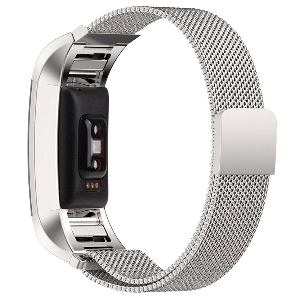 US $11 99 |Original Milanese Loop Watch Band for Fitbit Charge 2 Magnetic  Buckle Strap Link Belt Stainless Steel Wrist Bracelet Multi Color-in