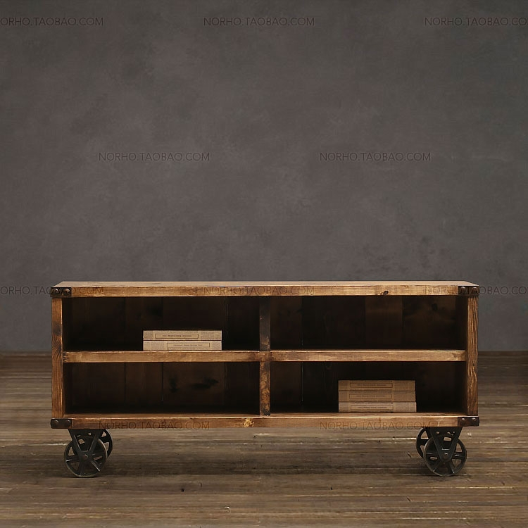 American country / do the old retro / recycled wood / old TV cabinet  antique pine bookcase storage cabinets display cabinets-in Bar Tables from  Furniture on ... - American Country / Do The Old Retro / Recycled Wood / Old TV