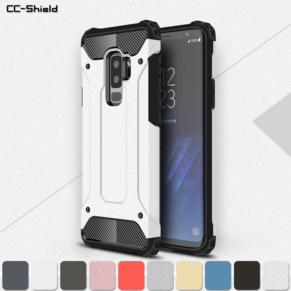 wholesale dealer 79694 adc43 US $4.17 5% OFF|Armor Case for Samsung Galaxy S9 9S Plus G965 S9Plus SM  G965F/DS SM G965 Phone Case for Samsung Galaxy 9 9Plus Plus Frame Cover-in  ...