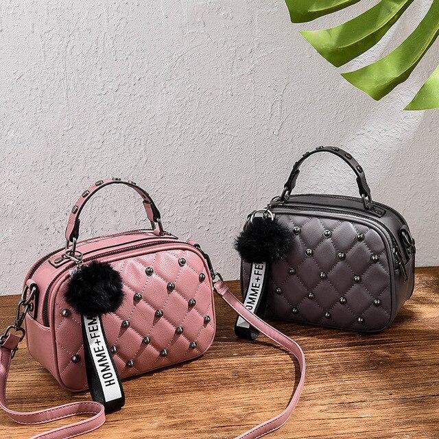 geometric portable bag