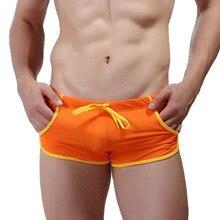 Shorts Men Swimsuit Trunks Boxers Fast-Dry-Board Men's New-Brand-Clothing Beach Man Pocket
