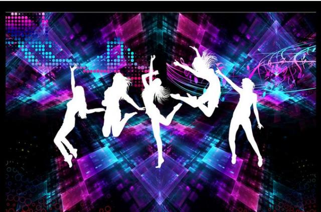 Europe Mural Custom Wallpaper 3d Wall KTV Dance DJ Character Beauty Stereoscopic TV
