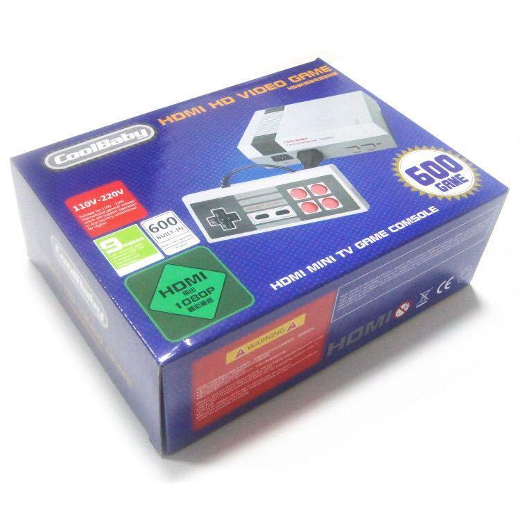Portable Spielkonsolen Videospiele 20 Stücke Coolbaby Hd Mini Tv Familie Spielkonsole Hdmi 8 Bit Retro Video Spiel Konsole Eingebaute 600 Spiel Handheld Gaming-player äSthetisches Aussehen