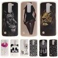 Phone Case sFor LG K4 K7 K8 K10 Cartoon High Quality Glossy Soft TPU Case Back Cover For LG K4/LG K7/LG K8/ LG K10 Coque