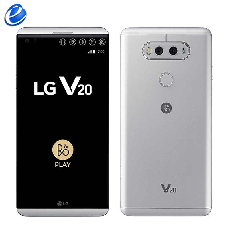 מקורי סמארטפון LG V20 H990 F800 H910 נייד טלפון 4GB RAM 64GB ROM Quad Core 5.7 ''16MP + 8MP טביעות אצבע 4G LTE טלפון חכם
