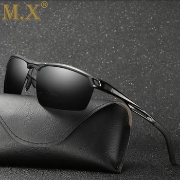 2019 Mens Polarized Night Driving Sunglasses Men Brand Designer Yellow Lens Night Vision Driving Glasses Goggles Reduce Glare