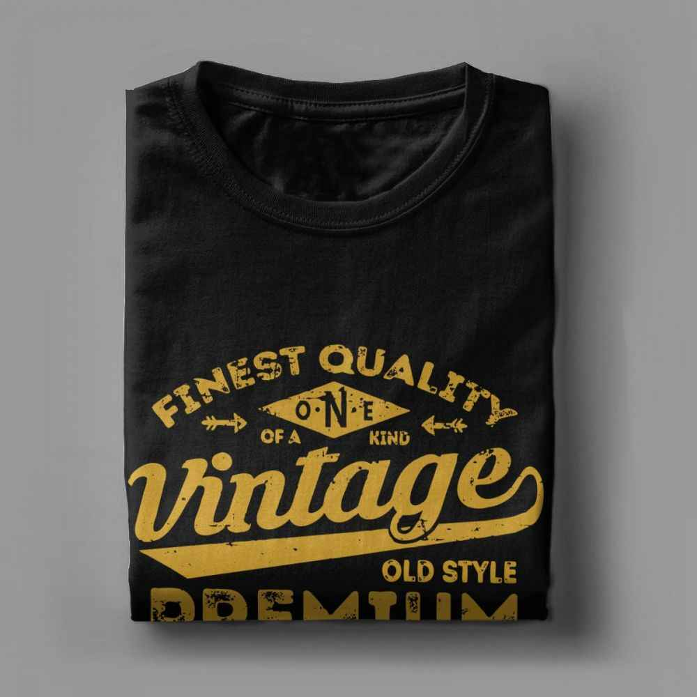 Vintage 1969 50th Birthday Gift Idea T Shirt For Men 50 Years Old Short Sleeve