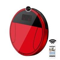 2018 PAKWANG Robotic Vacuum Cleaner With Camera Wi Fi Control Video Call Night Surveillance 7000Mah Battery