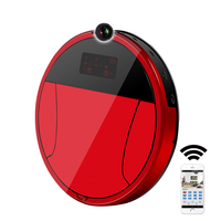 2018 PAKWANG Robotic Vacuum Cleaner With Camera Wi Fi Control Video Call Night Surveillance 7000Mah Battery