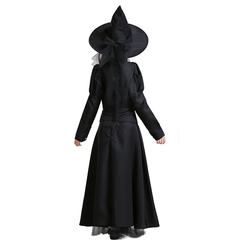 Umorden The Wizard of Oz Wicked Witch Costume for Girls Child Teen Girl Halloween Carnival Masquerade Mardi Gras Party Dress in Girls Costumes from Novelty Special Use