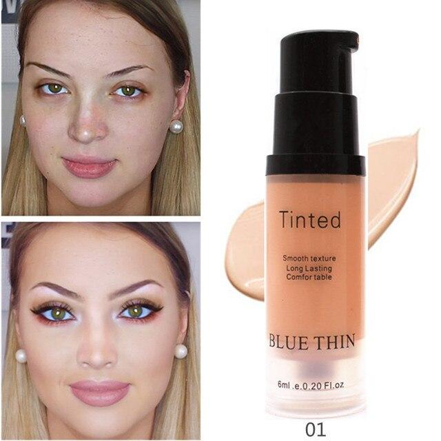 La cobertura completa correctivas líquido maquillaje 6 ml corrector de ojos cejas impermeable cara crema compuesto como Base para cosméticos JLRS 2019