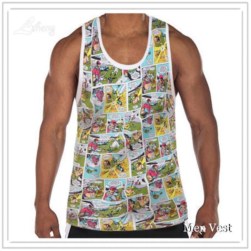 b7c11f40c7 Männer Tank Tops Fitness Kleidung Homme Sleeveless Shirts Männer Tank Top  Männer Bodybuilding Weste Männer Kleidung Slips Tops T Tanktops