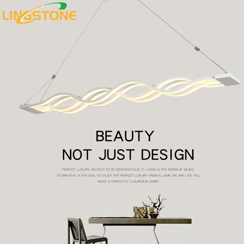 Led <font><b>Pendant</b></font> Lights Modern Lamparas Colgantes AC90-260V Hanging Ceiling Lamp Coffee Restaurant Deco Avize Home Lighting Luminaire