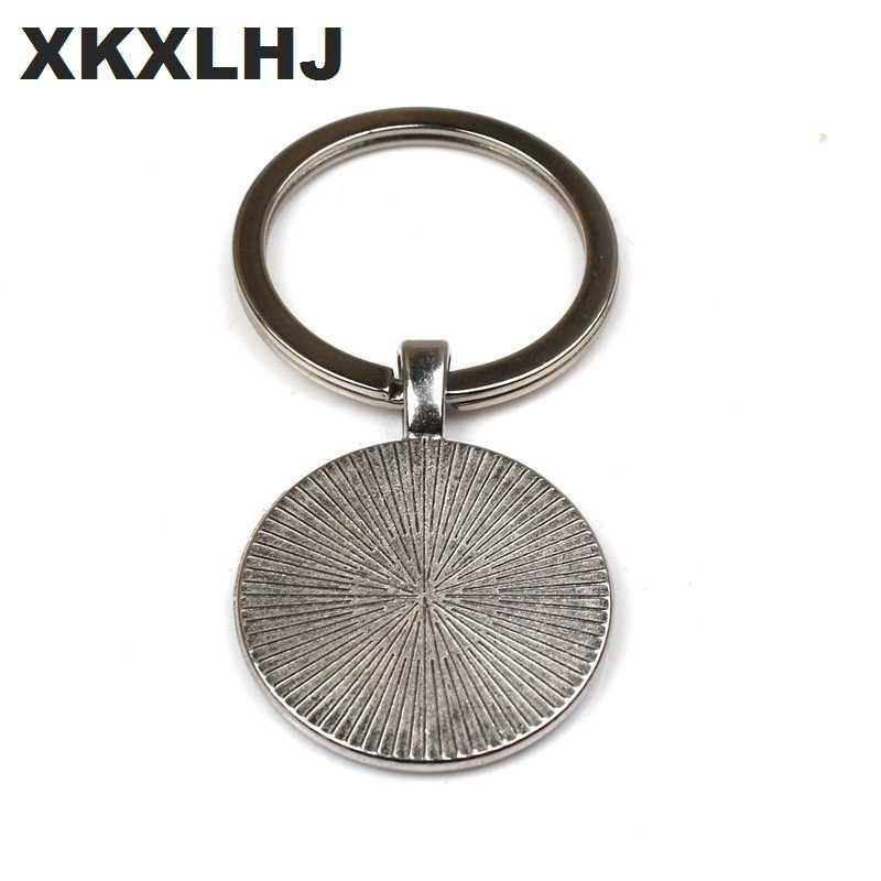 XKXLHJ New Fashion Riverdale Keychain Personalized Photo Glass Convex Couple Keychain Pendant Ladies Men's Jewelry