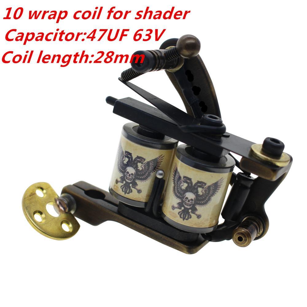 Redscropion Copper Handmade Coil Tattoo Machines Tattoo Guns