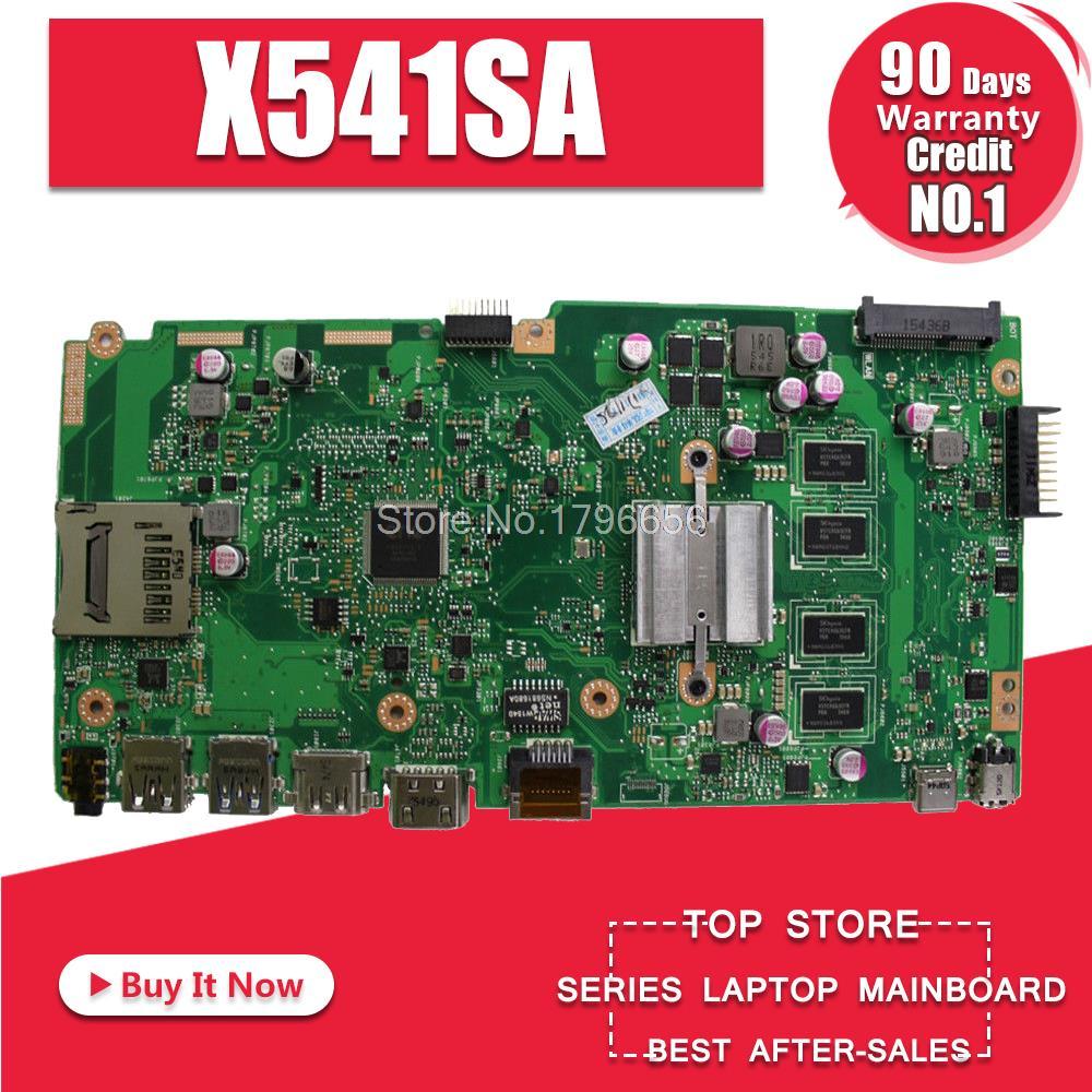 X541SA Carte Mère REV: 2.0 Pour ASUS X541 X541S X541SA Mère d'ordinateur portable X541SA Carte Mère X541SA Carte Mère test ok
