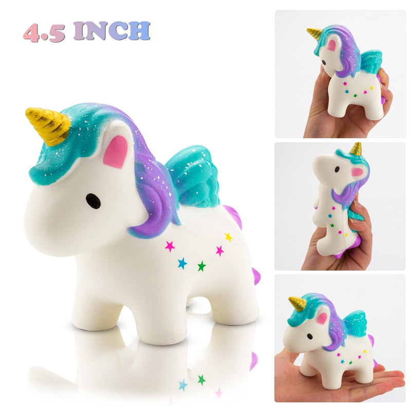 Slow Rising Toy, Kawaii Star Unicorn Squishy Toy, Cream Scented Simulation Cute Animals Toys Gift For Kids Lovely Stress Relief