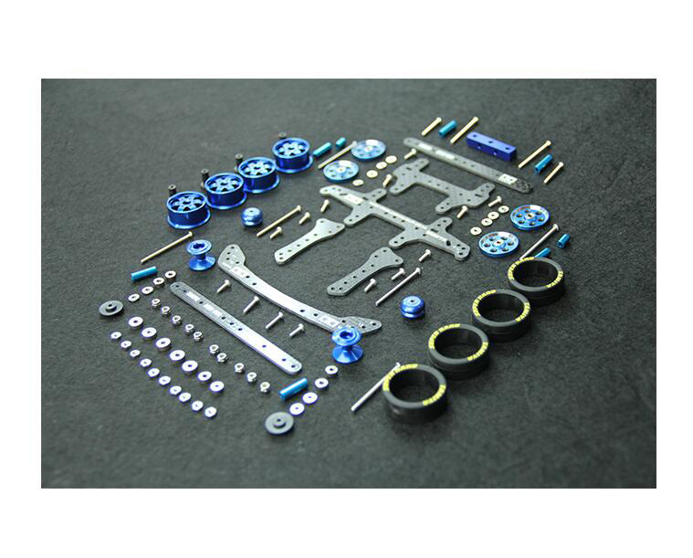 1 Set MA/AR Chassis Modify Spare Parts Set Carbon Fiber Kit For DIY Tamiya Mini 4WD RC Car Model Black/red/blue/silver glass fiber front stay rear stay reinforcing plate side plate spare parts for diy tamiya mini 4wd rc car model 94848 94847