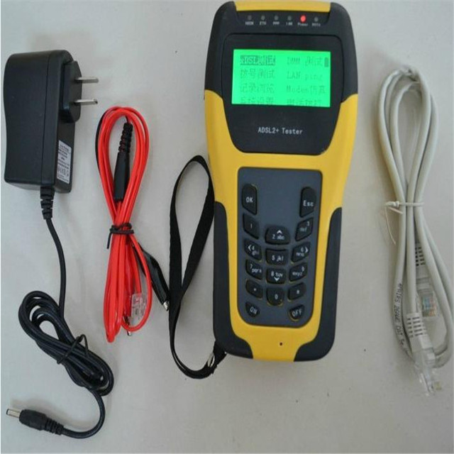 ST332B ADSL2+ tester / phone equipment maintenance necessary / Tester / installation and maintenance tools