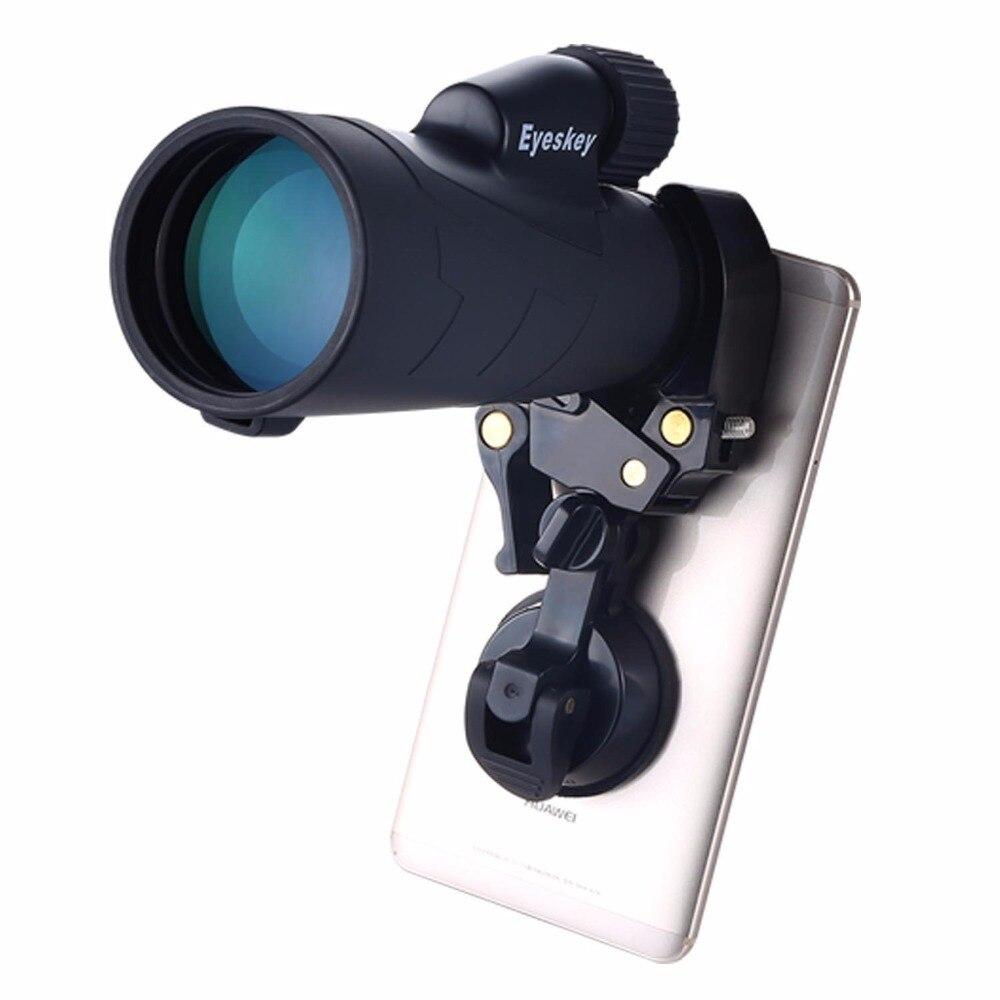Livraison gratuite téléphone portable téléphone portable adaptateur pour Jumelles Télescope Monoculaire Lunette D'appareil-photo de Téléphone Portable Universel Adaptateur