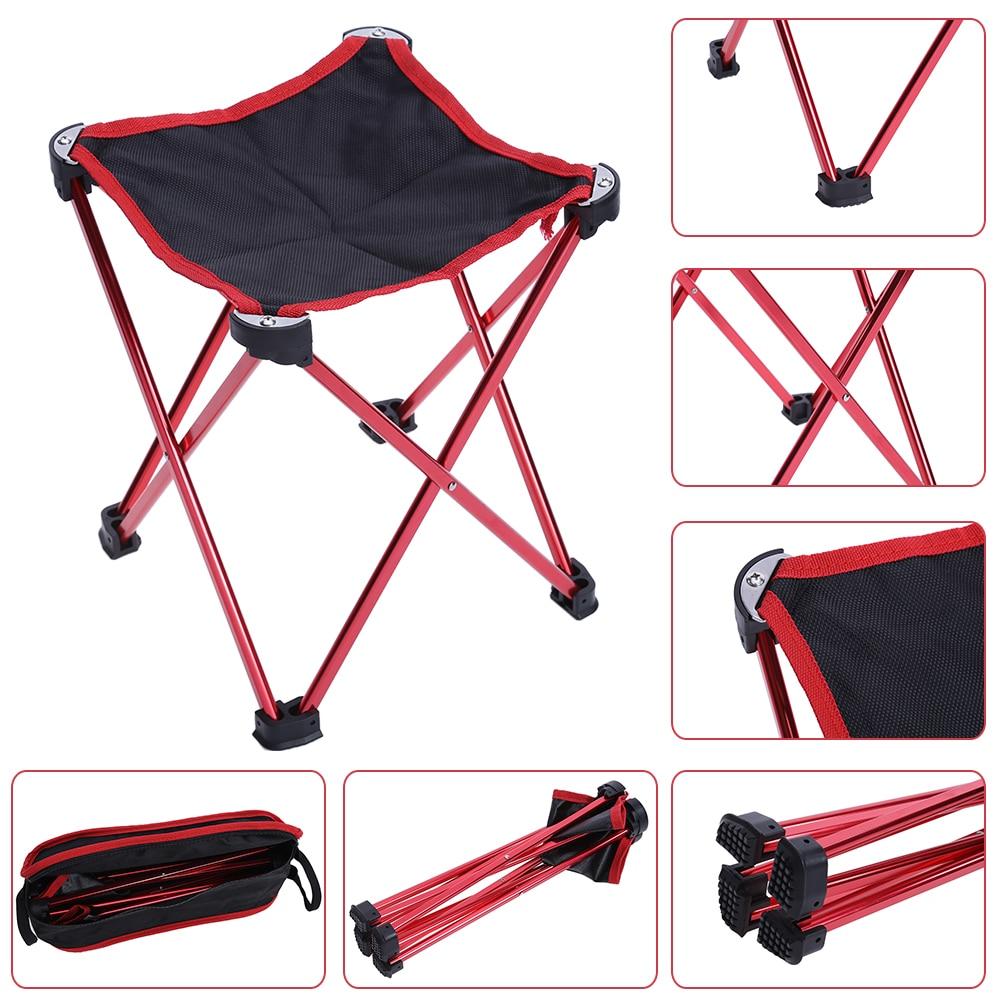 Waterproof Folding Fishing Chair Four legged Triangular ...