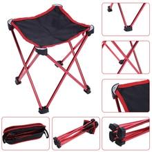 Waterproof  Folding Fishing Chair Four legged Triangular PVC Oxford Fabric Chair Stool Black Outdoor Camping Fishing Supplies