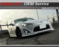 Carbon Fiber VTX Style Body kit Front Bumper Lip Side Skirt Extension Rear Bumper Spats Fit For Toyota GT86 FT86 ZN6 FR S FRS