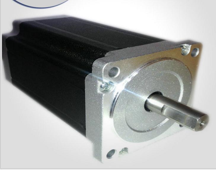 3pcs Nema 34 Stepper Motor 86HS115-6004 single shaft 1232oz-in(8.7N.m), 6A ,115mm CNC Engraving 3pcs nema 34 stepper motor 86hs155 6004a single shaft 1700oz in 12n m 6a 155mm cnc engraving