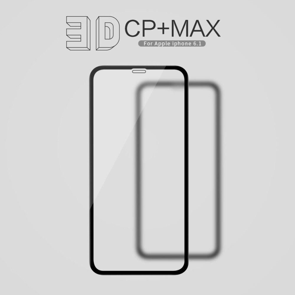 10 pcs/lot gros NILLKIN 3D CP + MAX Couverture Complète Anti-explosion Trempé Protecteur D'écran En Verre Pour iphone xr iphone xs max